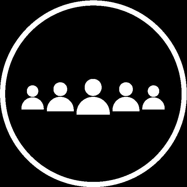 row of figures